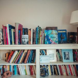 bibliothèque maison d'hôtes